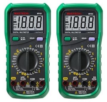 Мультиметры цифровые (Mastech)
