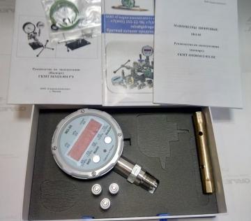 Манометр цифровой образцовый МО-05