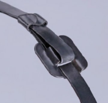 Стяжки стальные бугельного типа из нержавеющей стали AISI 304 с полимерным покрытием