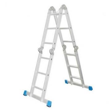 Шарнирная лестница четырехсекционная