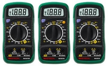 Мультиметры цифровые MAS 830B. MAS 830L. 838