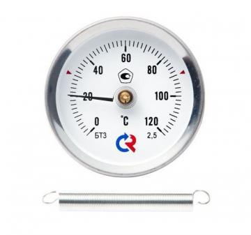 Термометр общетехнический специальный (с пружиной)