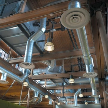 Аэродинамические испытания систем вентиляции