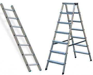 Алюминиевые лестницы, стремянки
