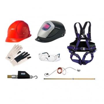 Средства индивидуальной защиты (головы, глаз, при работе на высоте...)
