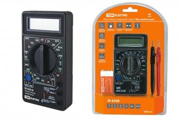 Мультиметры цифровые TDM Electric:  М830В, М832, М838