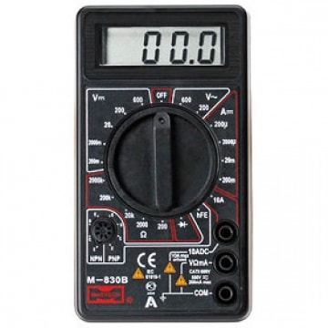 Мультиметры цифровые M 830B, M 838