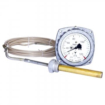 Термометр конденсационный, электроконтактный ТКП-100Эк